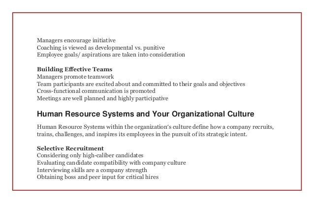 Organizational culture a blueprint for success in a family business 5 malvernweather Choice Image