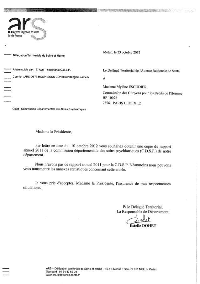 77 rapport activité cdsp 2011