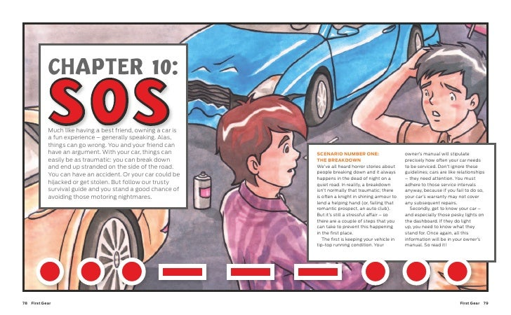 CHAPTER 10:             SOS            Much like having a best friend, owning a car is            a fun experience – gener...