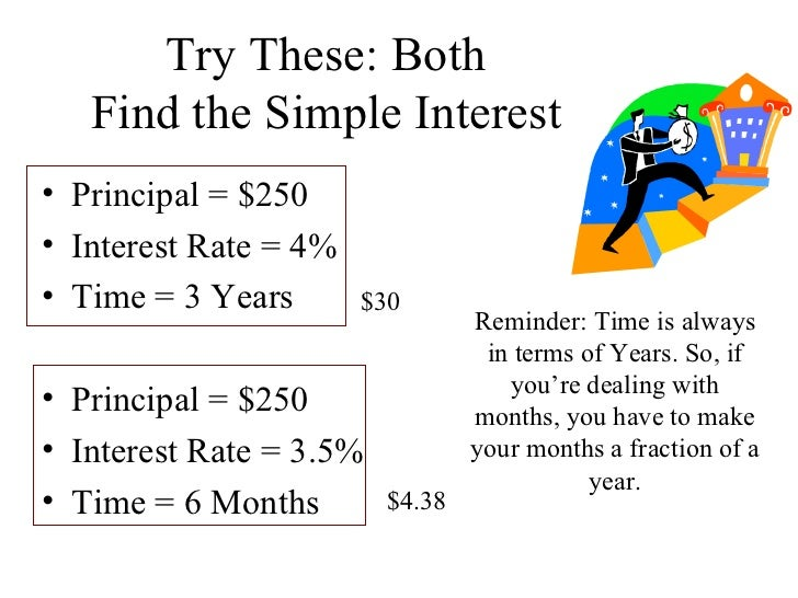 7.8 Simple and Compound Interest