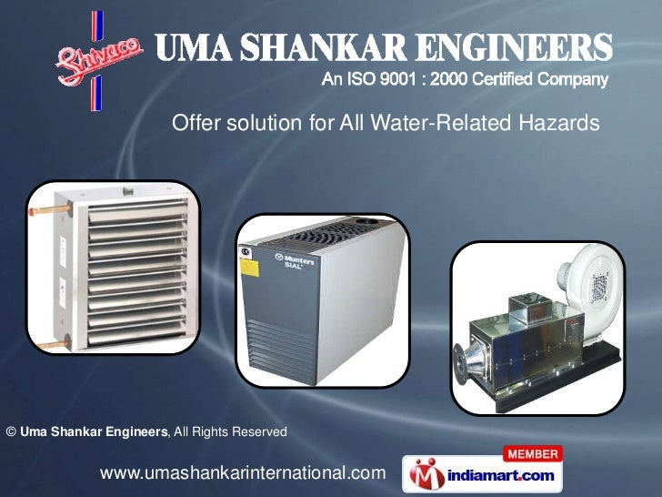 Offer solution for All Water-Related Hazards© Uma Shankar Engineers, All Rights Reserved              www.umashankarintern...