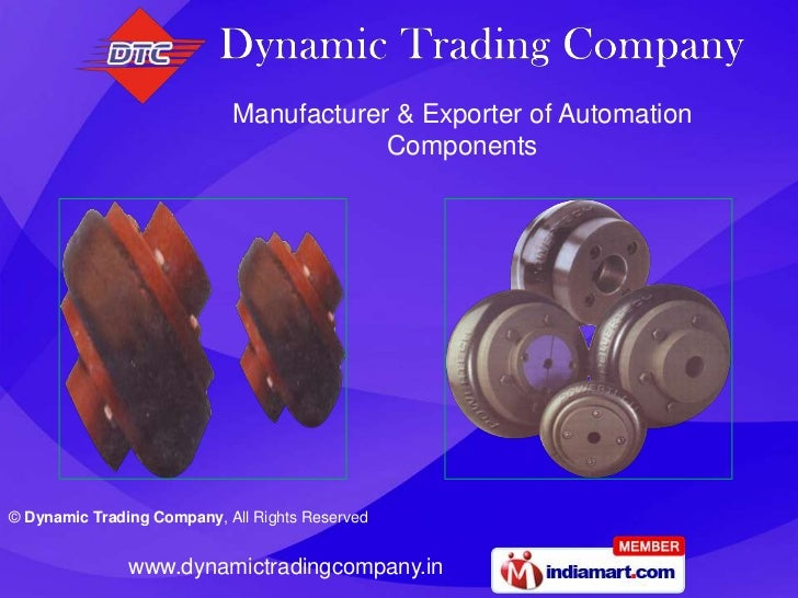 Manufacturer & Exporter of Automation                                        Components© Dynamic Trading Company, All Righ...