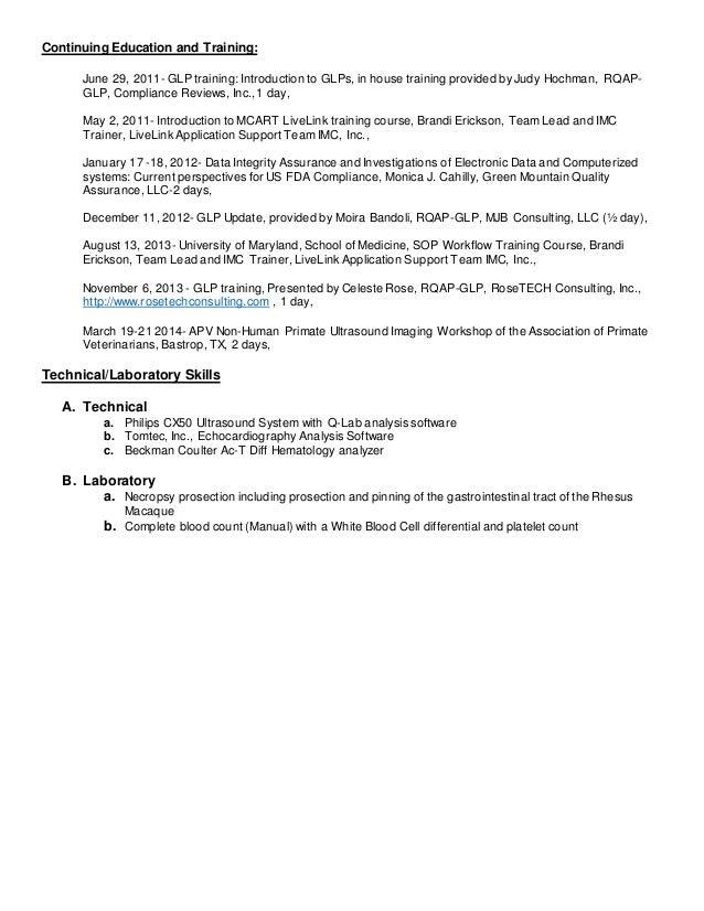 elisa renee swartz resume april 2015