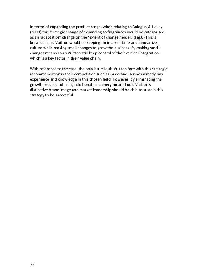 Louis Vuitton: Company Analysis