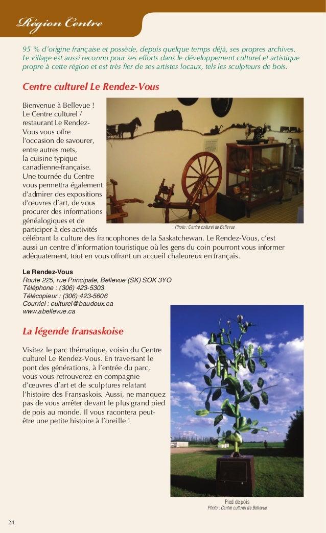 24 Région Centre 95% d'origine française et possède, depuis quelque temps déjà, ses propres archives. Le village est auss...