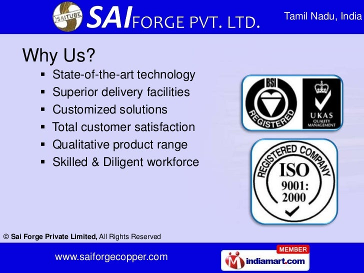Tamil Nadu, India     Why Us?              State-of-the-art technology              Superior delivery facilities        ...