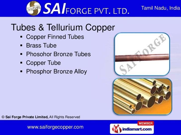 Tamil Nadu, India     Tubes & Tellurium Copper              Copper Finned Tubes              Brass Tube              Ph...