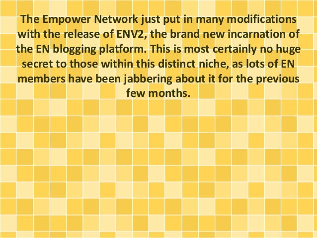 ENV2 Brings Simplicity To Empower Network Slide 2