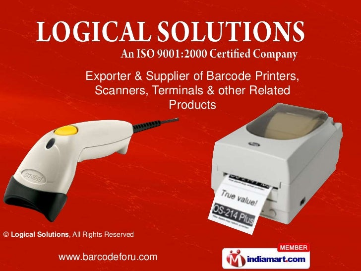 Exporter & Supplier of Barcode Printers,                          Scanners, Terminals & other Related                     ...