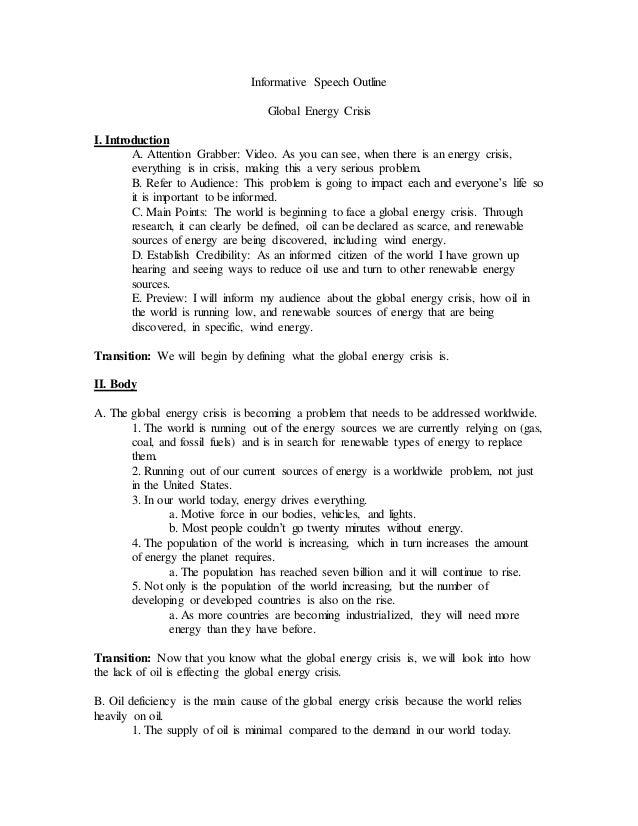 energy crisis pdf