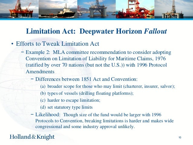 Convention on Limitation of Liability for Maritime Claims (LLMC)