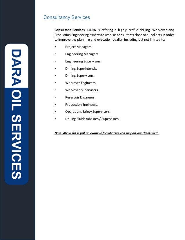 3 - Consultancy Services