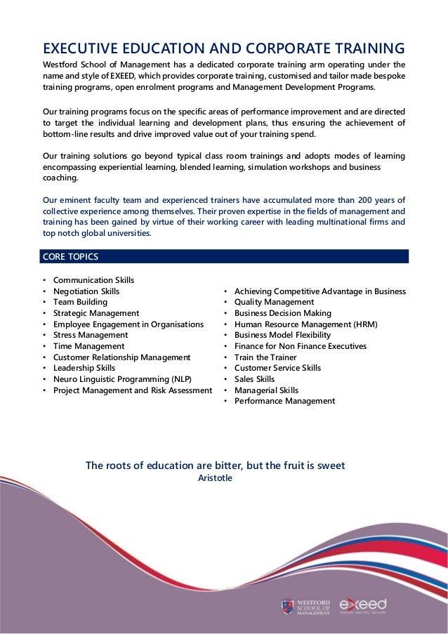 Wsm Corporate Profile Proposal