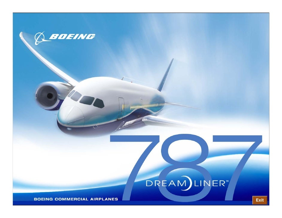 • Boeing 787 Dreamliner Flight Deck      • Electronic Flight Bag Safety, Comfort and Efficiency            – The Electroni...