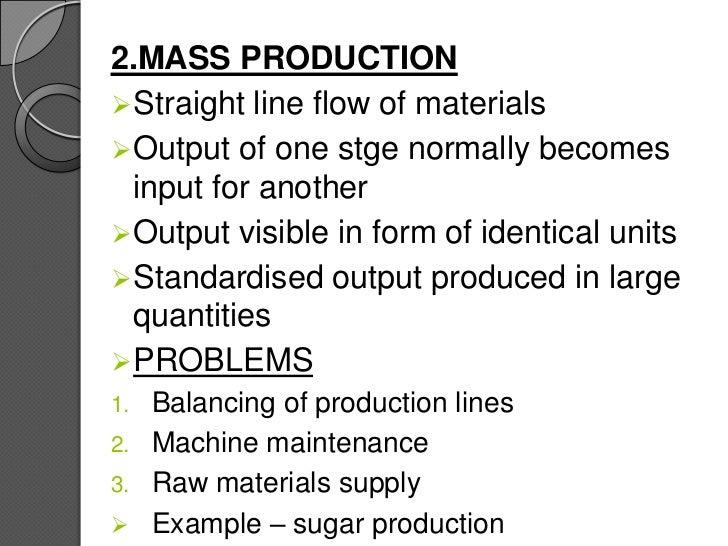 Forerunners for bulk making systems