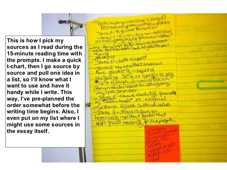 This is how I pick my sources as I read during the 15-minute reading time with the prompts. I make a quick t-chart, then I...