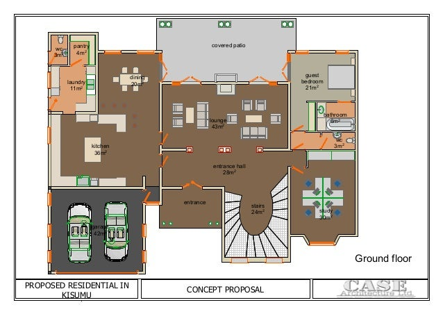 KISUMU HOUSE floor plans
