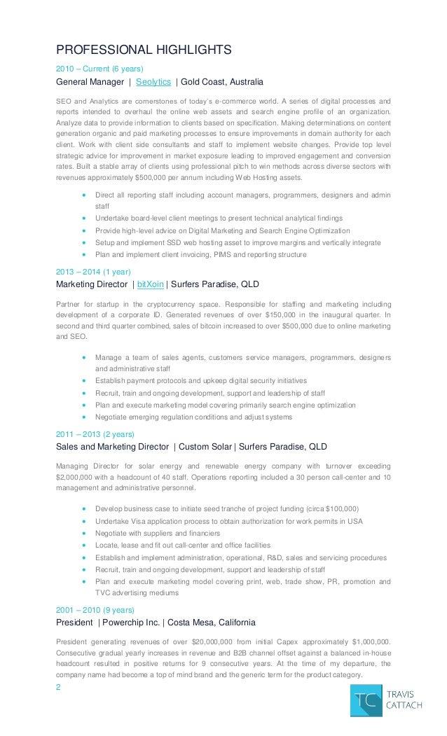 Travis Cattach Resume 2016 - traviscattach-at-gmail