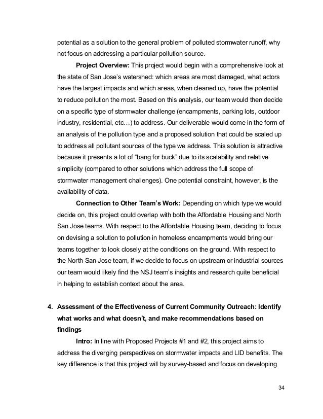 Stormwater_Project Definition_White Paper