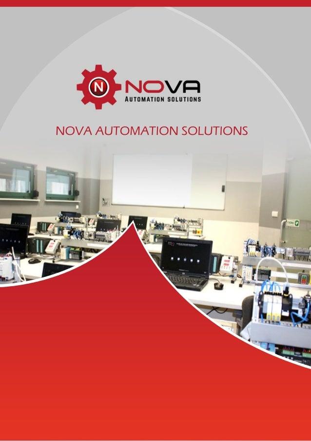 NOVA AUTOMATION SOLUTIONS