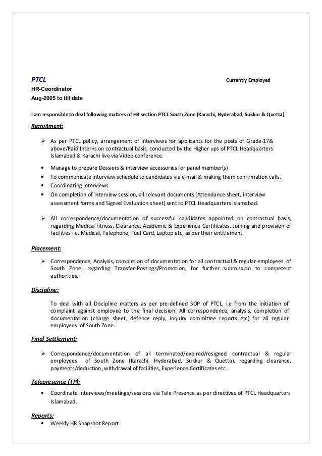 Muhammad tahir anwar resume for Resume samples for self employed individuals