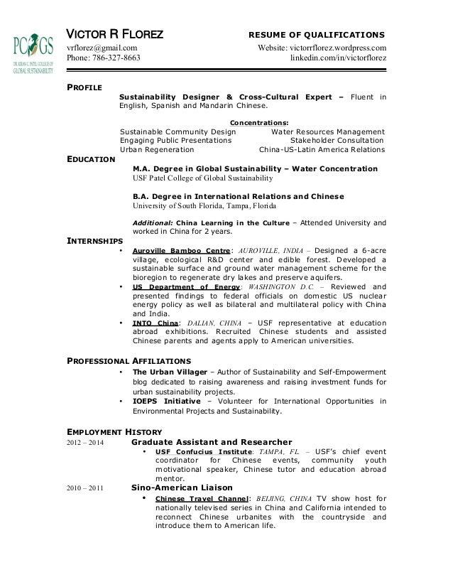 VRF Resume May 2015