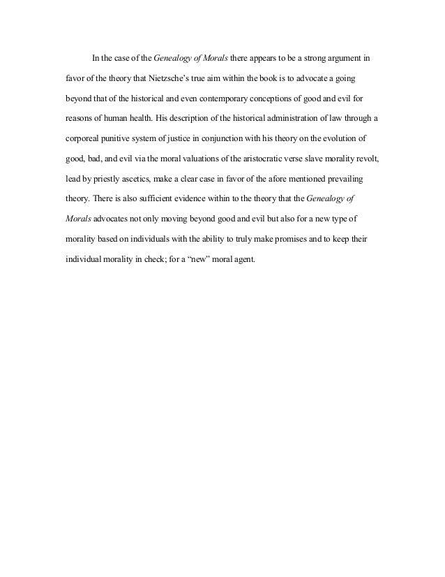 nietzsche essay beyond good and evil