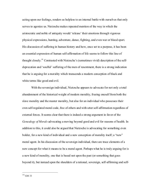 nietzsche s revaluation of all values essay I will also show that there are good reasons for upgrading the importance of nietzsche's project of a revaluation of all values three essays against nietzsche.