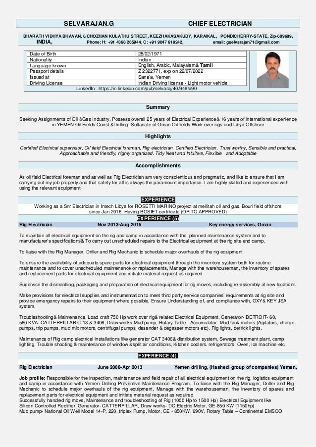 Selva updated resume