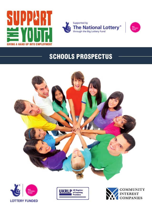 GIVING A HAND UP INTO EMPLOYMENT SCHOOLS PROSPECTUS
