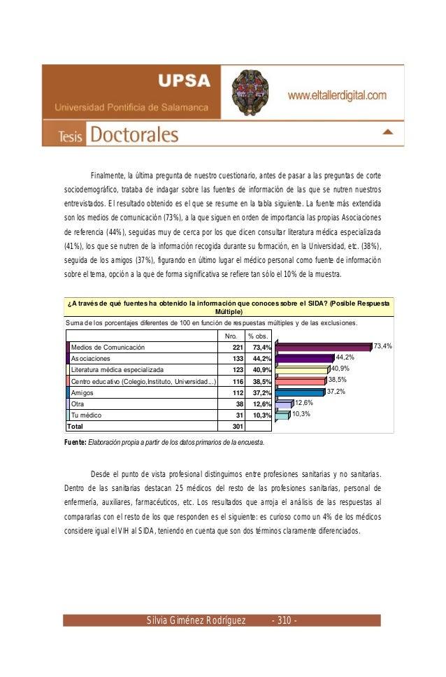 Silvia Giménez Rodríguez - 310 - Finalmente, la última pregunta de nuestro cuestionario, antes de pasar a las preguntas de...