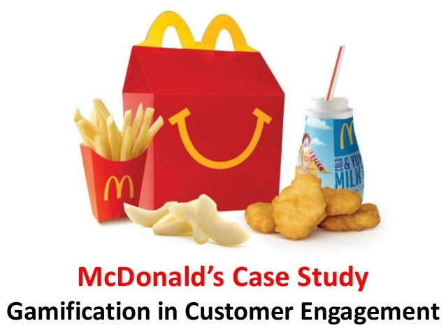 mcdonald s case study 1 Mc donald case study 1 1 mcdonald case study 2 about mcdonaldbrief history of mcdonald's the first mcdonalds was built in 1940 by the mcdonald brothers (dick and mac)  started off as a hot dog stand in ca [1937] the mcdonald brothers realized that hamburgers were their most profitable menu item, and changed their business to serve a.