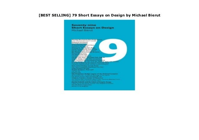 Michael bierut 79 essays