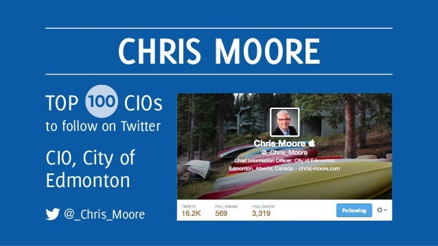 Top 100 CIOs to Follow on Twitter Slide 15