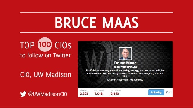 Top 100 CIOs to Follow on Twitter Slide 19