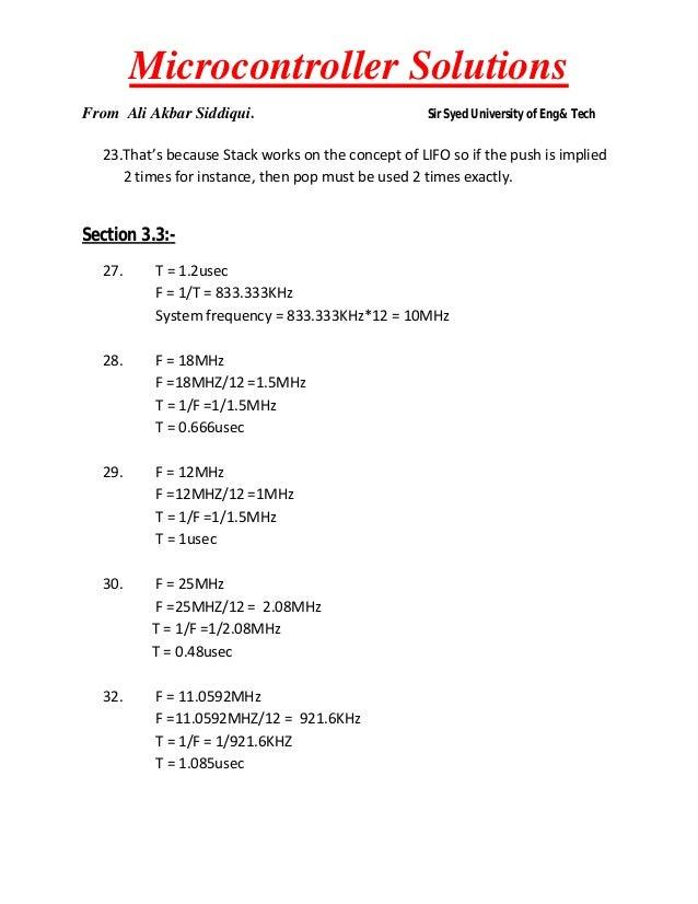 8051 mazidi solution rh slideshare net Mack Assembly Manual Manuals for Navepoint 15U Assembly