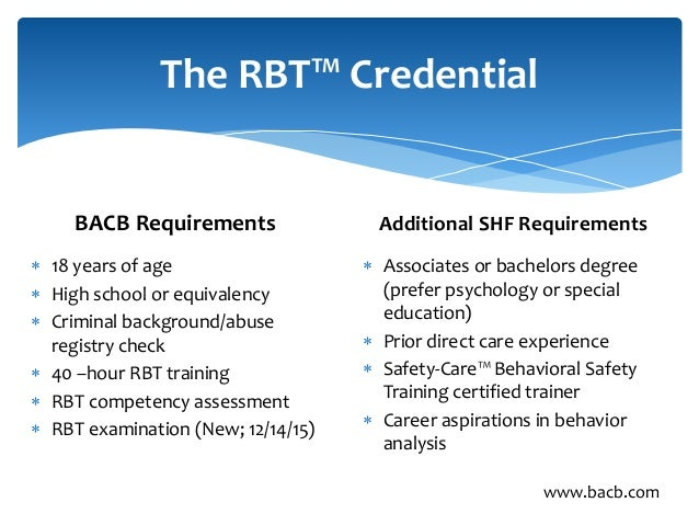 (RBT®) Competency Assessment - BACB.com - PDF Free Download