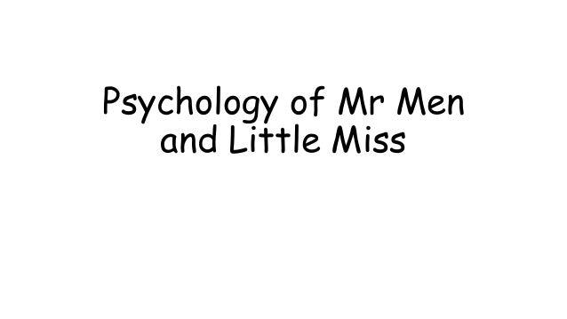 Psychology of Mr Men and Little Miss