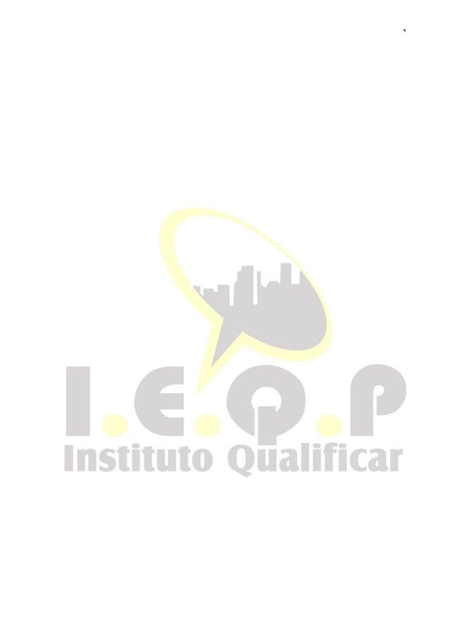1Instituto Educacional De Qualificação Profissional- Apostila Cabelereiro
