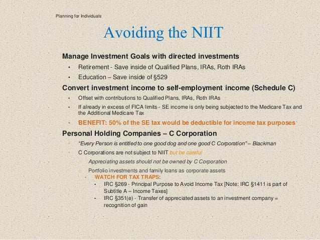 Manage Investment Goals with directed investments • Retirement - Save inside of Qualified Plans, IRAs, Roth IRAs • Educati...