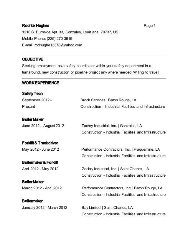 Rodrick Hughes New Resume 2 2
