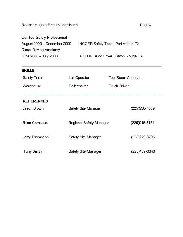 rodrick hughes new resume 2