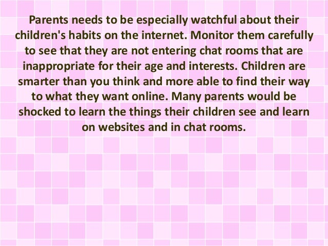 internet chat rooms essay