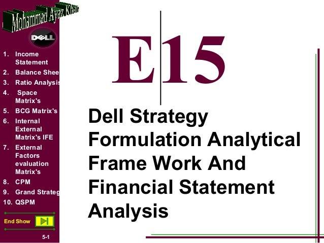 1. Income   Statement2. Balance Sheet3. Ratio Analysis4.   Space     Matrixs                        E155. BCG Matrixs6. In...