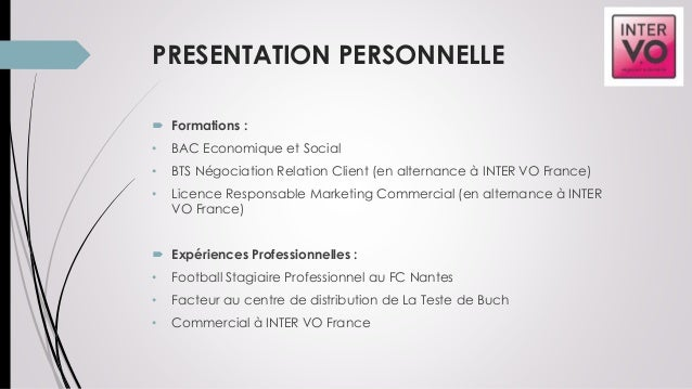 Mission Reporter Entreprise Inter Vo France