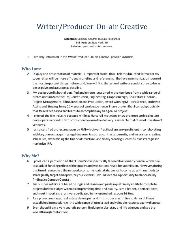 Creative Hr Cover Letter – Resume Templates Examples