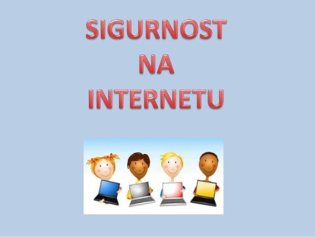 Što je Internet?Internet je svjetska globalna mreža koja omogućuje elektroničkupovezanost između računala i njihovu međuso...