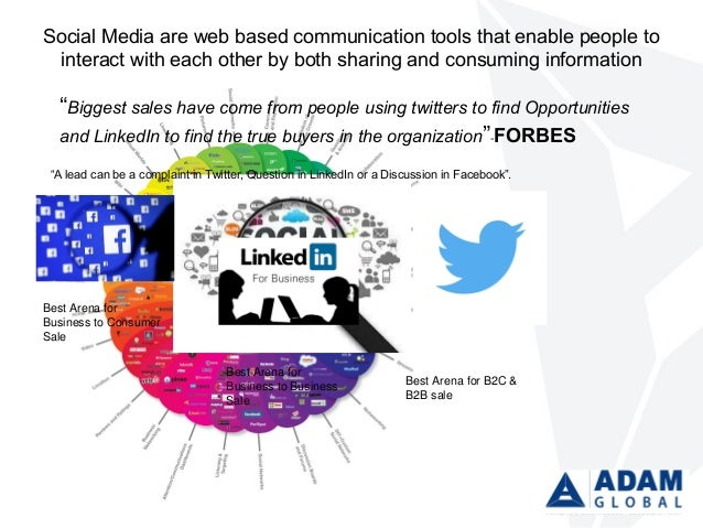 Social Media are web based communication tools that enable people to interact with each other by both sharing and consumin...