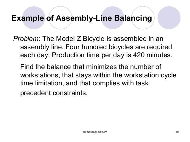 79971255 assembly line balancing