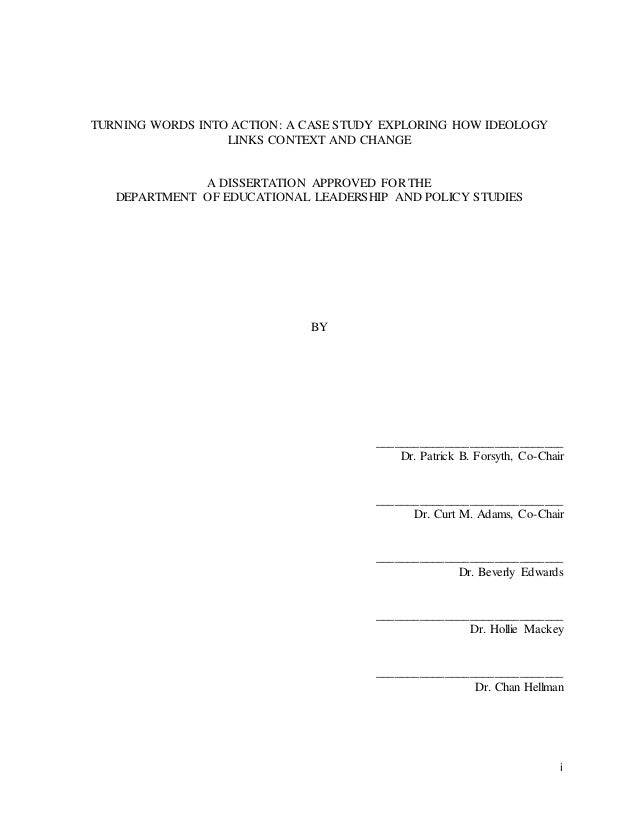 University of tulsa phd thesis
